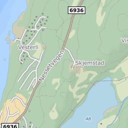 kjerknesvågen kart Nausthaugen  Kjerknesvågen, 7670 Inderøy på FINN kart kjerknesvågen kart